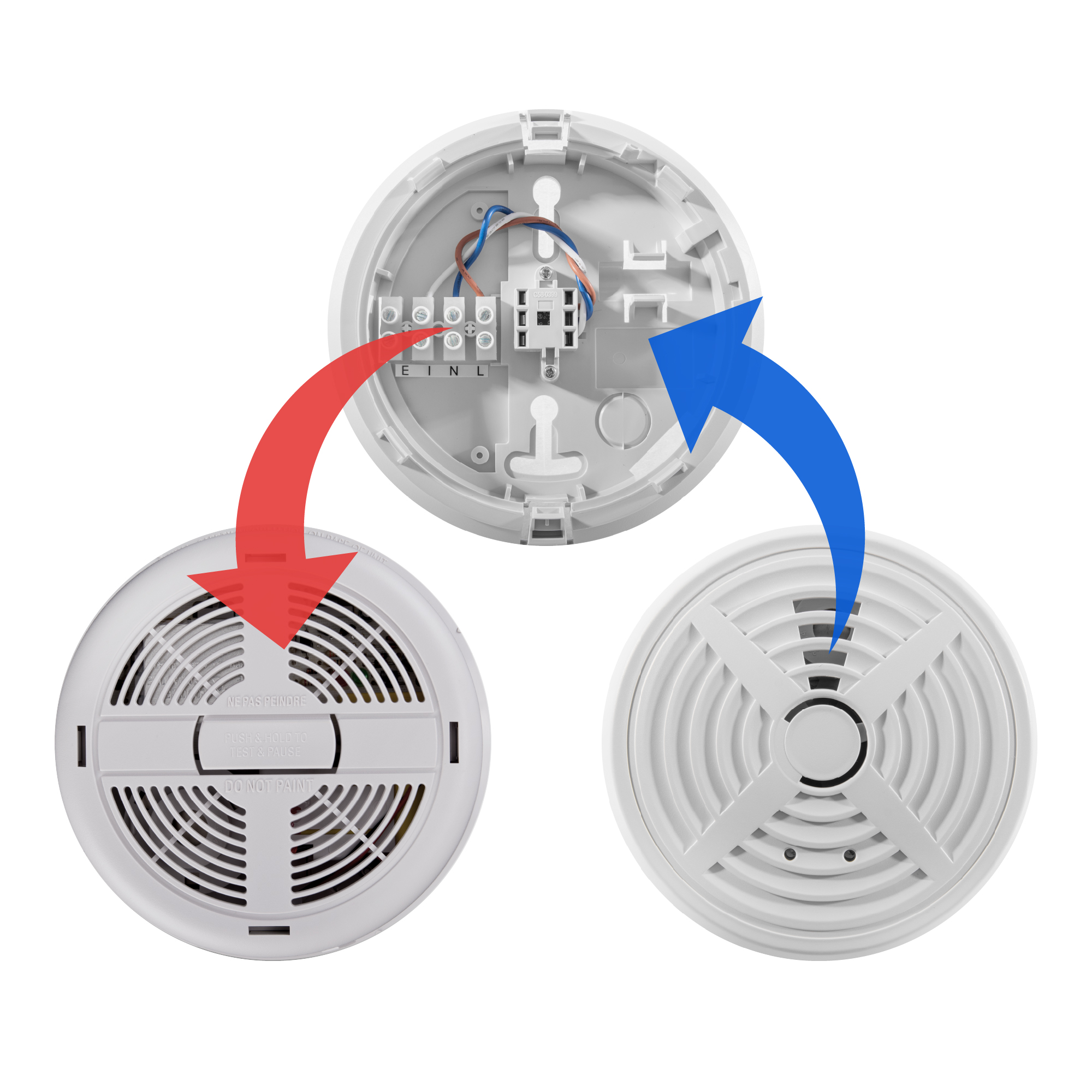 Replacement for BRK 760MBX and 770MBX mains powered smoke alarms