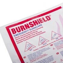 Burnshield® contains naturally anti-bacterial Hydrogel