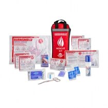 Contains a range of Burnshield burn treatment products