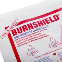 Contains Burnshield® Hydrogel cooling and soothing gel