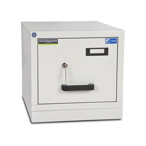 Burton FF100MK/II Fire Resistant Filing Cabinet - 1 Drawer