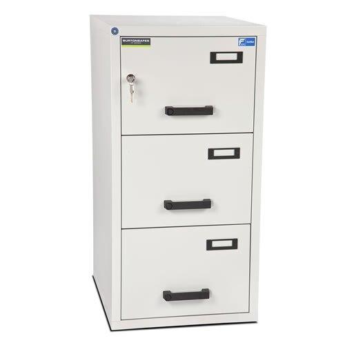 Burton FF300MK/II Fire Resistant Filing Cabinet - 3 Drawer