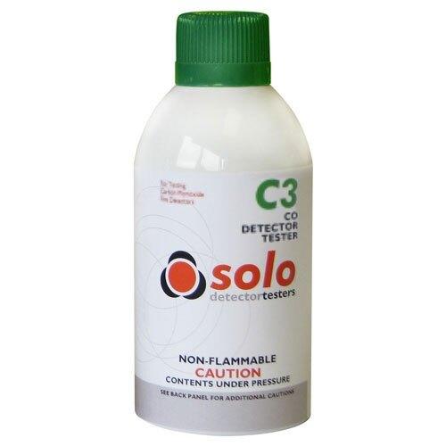 Solo C3 Carbon Monoxide Detector Tester
