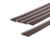 Surface-Mounted Single Fire Door Seal Kits - Brown