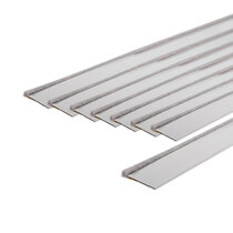 Surface-Mounted Double Fire Door Seal Kits - White