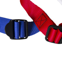 High quality straps with adjustable buckles.