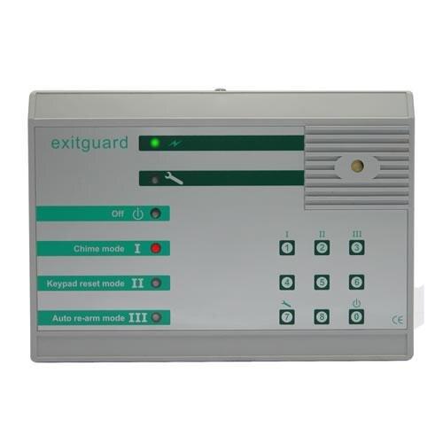 Exitguard Fire Door Security Alarm With Keypad Override