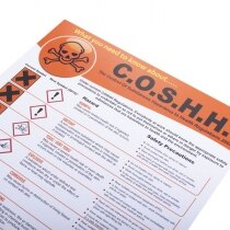 Outlines the Control of Substances Hazardous to Health Regulations 2002