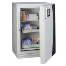 The DataGuard 120 safe is fitted with a key lock as standard