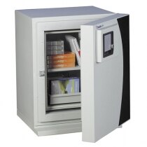 The DataGuard 40 safe provides 120 minutes fire protection for paper