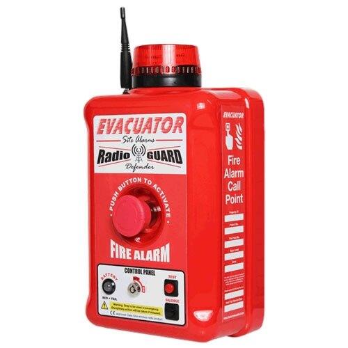 Evacuator Defender Wireless - Push Button Site Alarm