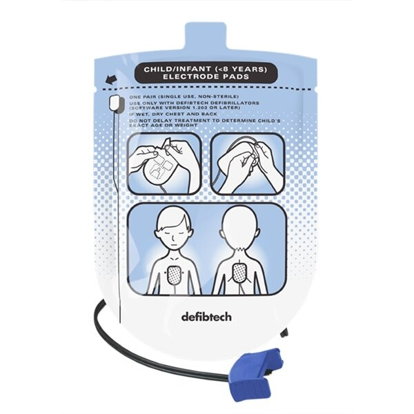 Defibtech Lifeline AED & Auto Paediatric Defib Pads