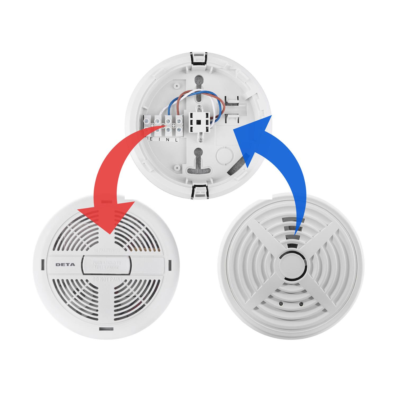 Replacement for DETA 1151 & 1153 mains powered smoke alarms