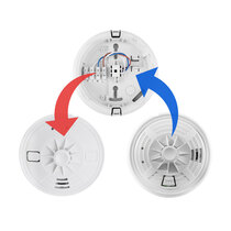 Replacement for the DETA 1155 mains powered heat alarms