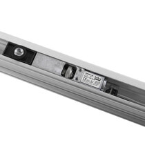 Also available with Electromagnetic Hold-Open slide channel