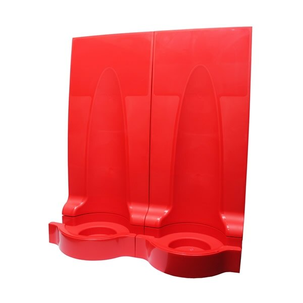 Universal Modular Fire Extinguisher Stand - Double