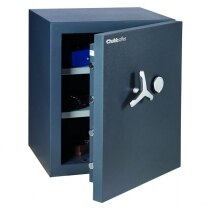 Chubbsafes DuoGuard 110 comes with two adjustable shelves