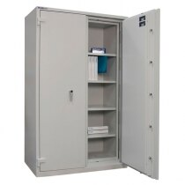 The Duplex 775 safe is supplied with four shelves