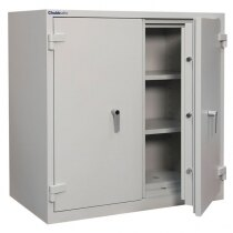 The Duplex safe provides 60 minutes fire protection for paper
