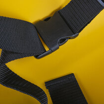 Built-in buckle to ensure patient security during transport