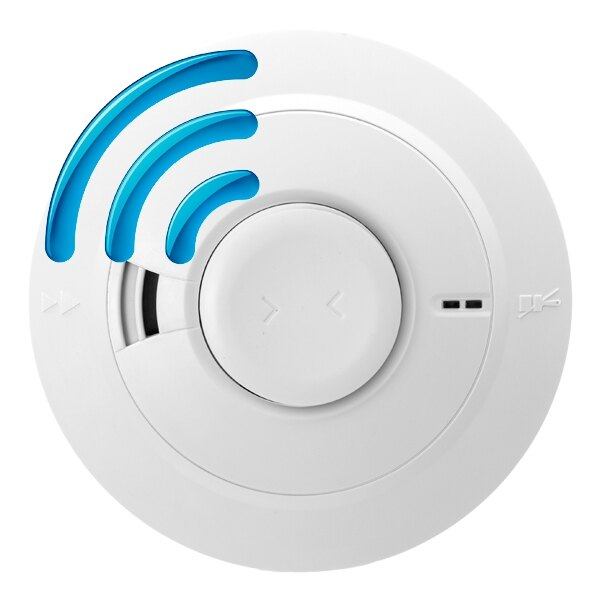 Radio-Interlinked Heat Alarm with Lifetime Back-up Battery - Ei164eRF