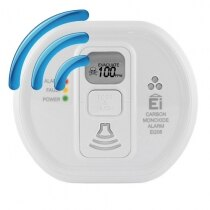 Ei208DWRF - 10 Year Carbon Monoxide Alarm with Radio-interlink