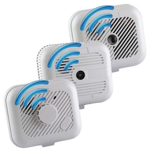 9v radio interlinked smoke heat alarm starter kit ebay. Black Bedroom Furniture Sets. Home Design Ideas