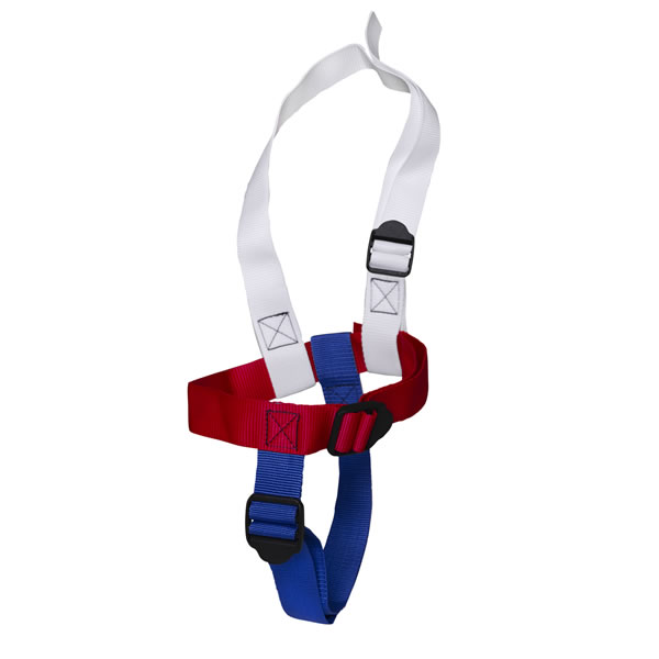 Child harness suitable for children up to 27kg / 60lbs.