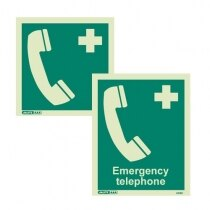 Emergency Telephone Signs