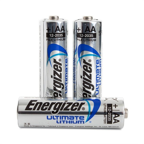 energizer ultimate lithium aa batteries ex vat. Black Bedroom Furniture Sets. Home Design Ideas