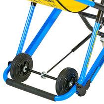 Footrest for patient comfort during transport