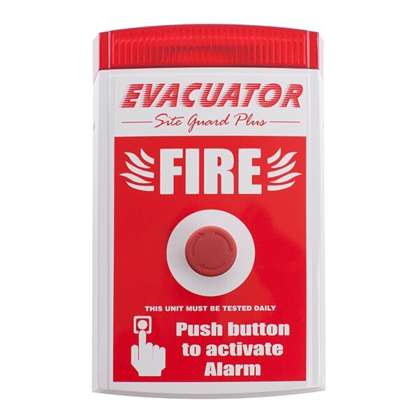 Evacuator Site Guard - Push Button Alarm
