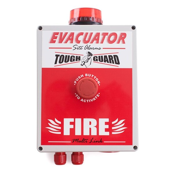 Evacuator Tough Guard - Push Button Site Alarm