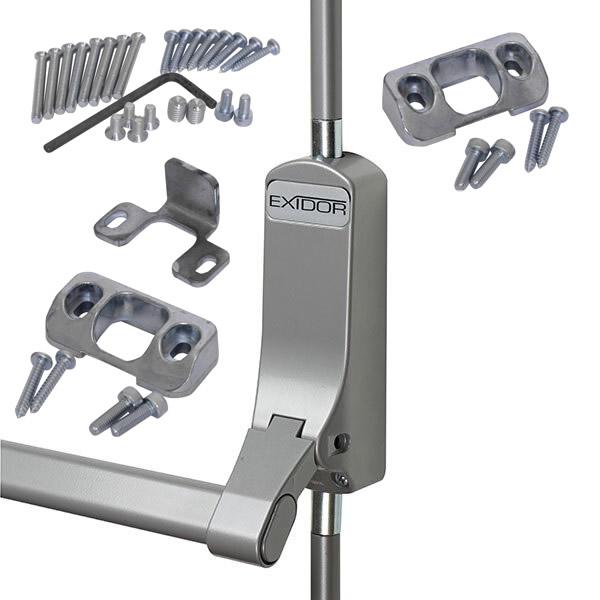 Exidor 294 Single Door Panic Bar with Bolt for Steel Doors