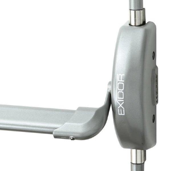 Exidor 502A-B Single Door Panic Bar With Bolt