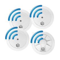 Radio-Interlink 3 Smoke and 1 Heat Alarm Kit - Firehawk W Series