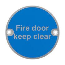 Metal Fire Door Signs