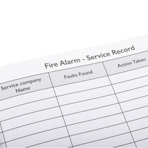 A4 size – plenty of space for detailed records