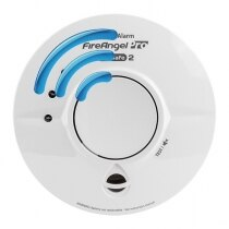 Mains Radio-Interlinked Thermoptek Smoke Alarm - FireAngel Pro WST-230