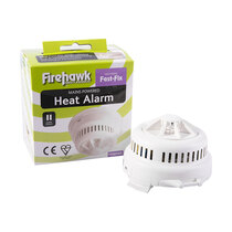 Hardwire interlink up to 15 FH450 heat alarms and FH250 smoke alarms in one system