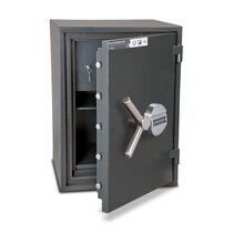 The built in lockable internal storage compartment