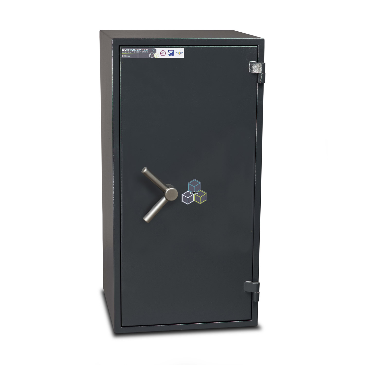 Burton Firesec 10/60 Fire and Security Safe with Key Lock