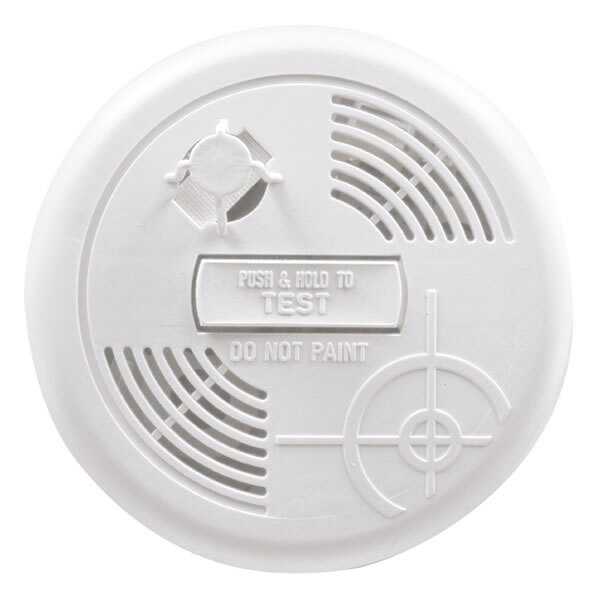 9V Heat Alarm with Test and Hush Button - First Alert HA300