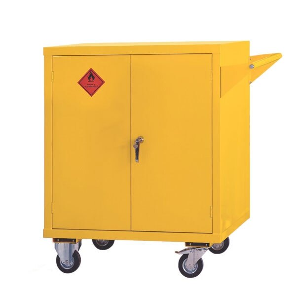Mobile Flammable Liquid Cabinet - Size 1