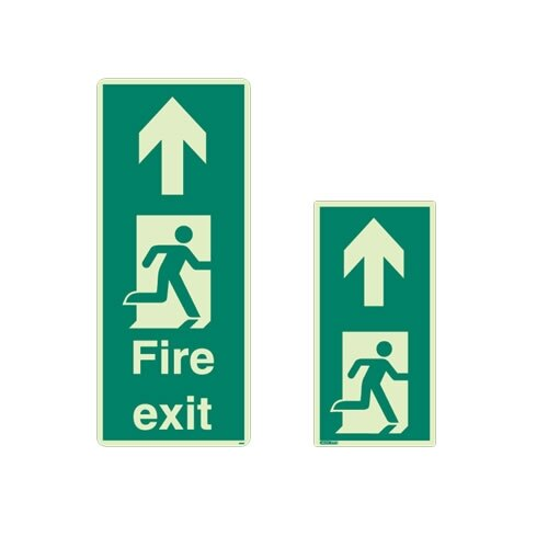 Floor Mounted Escape Route Signs from Jalite