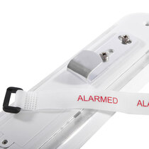 Alarm tag aids visibility and discourages theft