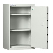 The ForceGuard security safe has a solid steel body and door
