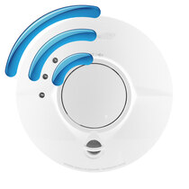 Mains Radio-Interlink Smoke Alarm with Sealed Longlife Back-up Battery - FireAngel FP1640W2-R