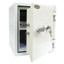 The Phoenix Titan 1282 safe has a 60 minute fireproof rating