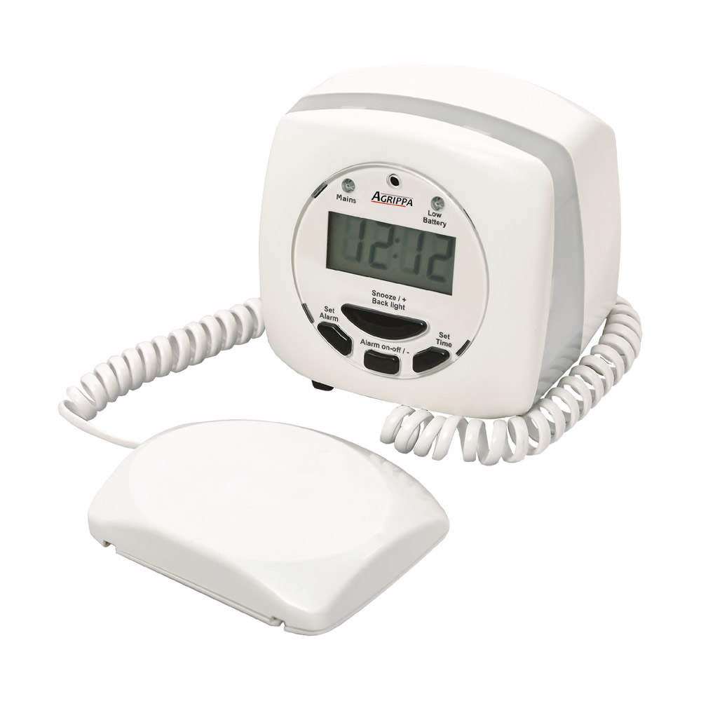 Geofire Agrippa Deaf Alert Acoustic Pillow Alarm